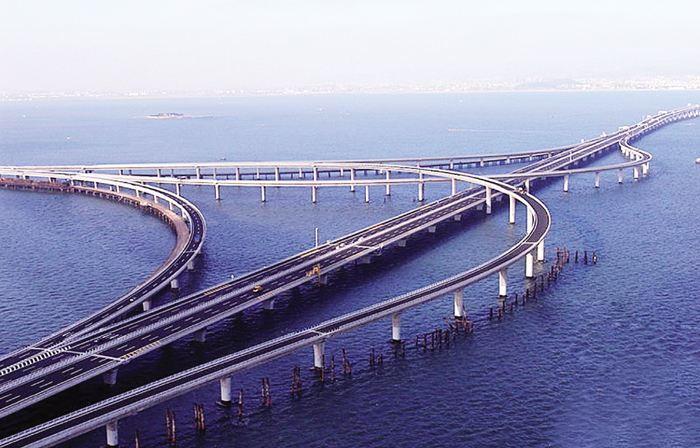 青岛黄岛跨海大桥